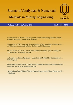 Journal of  Analytical and Numerical Methods in Mining Engineering